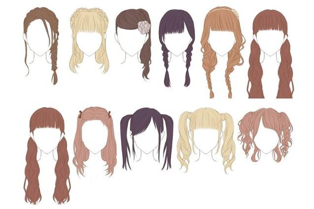 Как сделать себе причёску аниме
