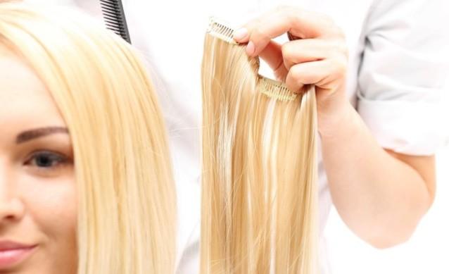 Ленточное наращивание волос: особенности процедуры