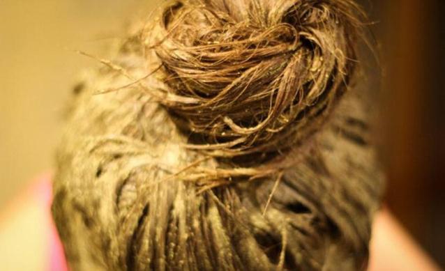 Горчичная маска для сухих волос