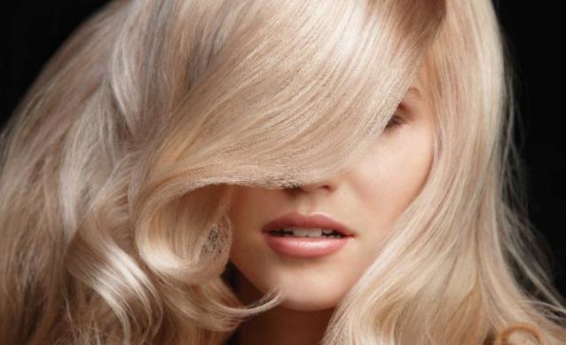 Холодный оттенок блонда
