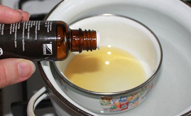 Масла на водяной бане