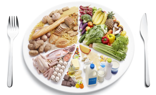 Богатая витаминами пища